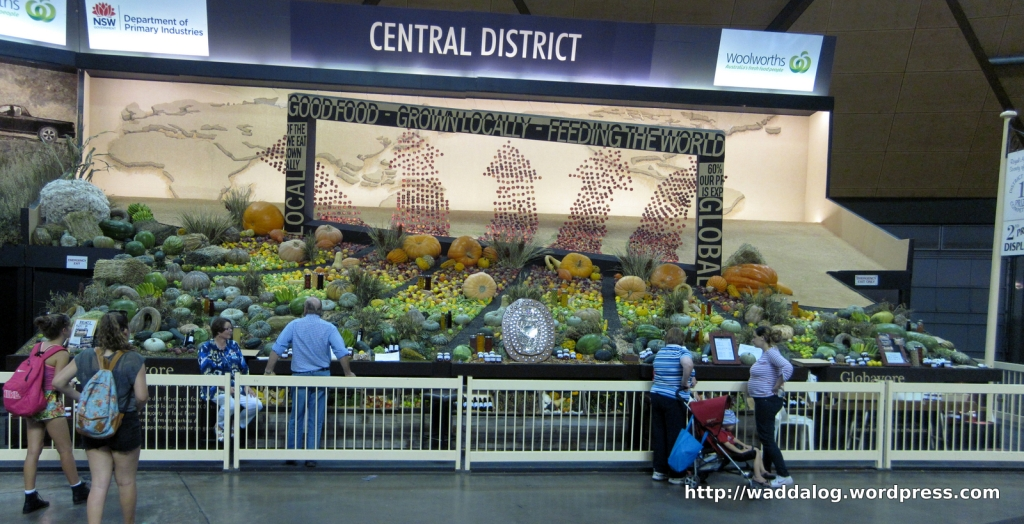 Central District, overall winners of the District Exhibit