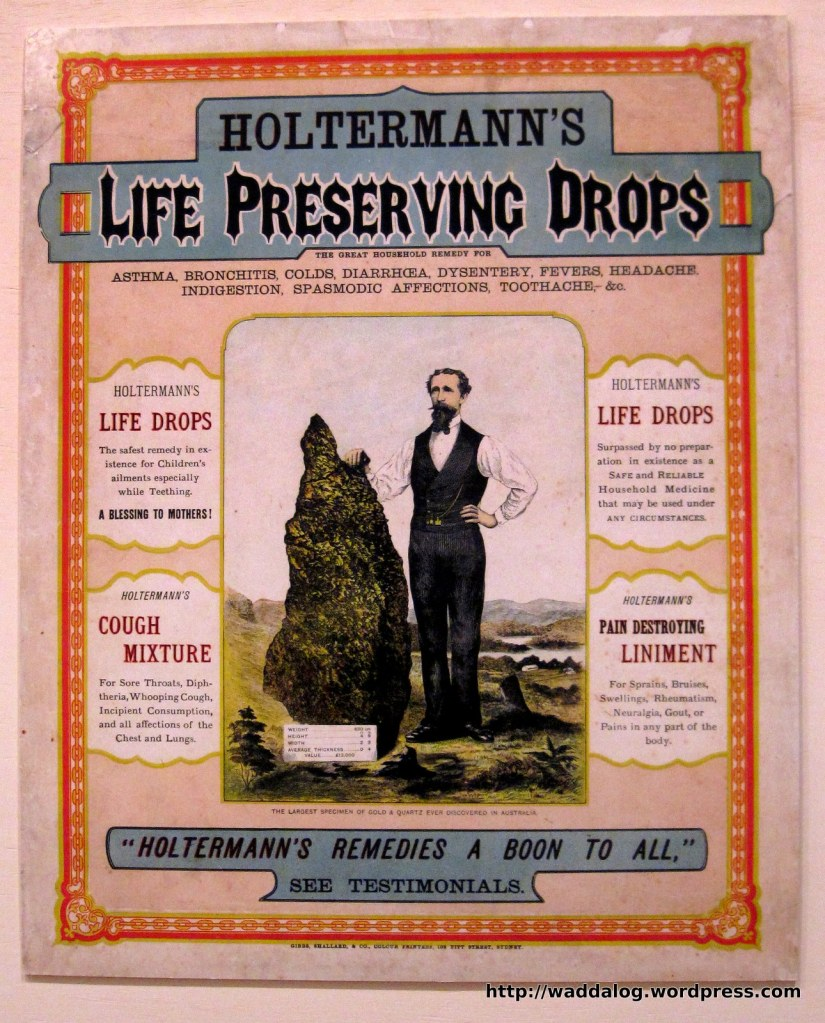 The Holtermann Nugget advertising logo